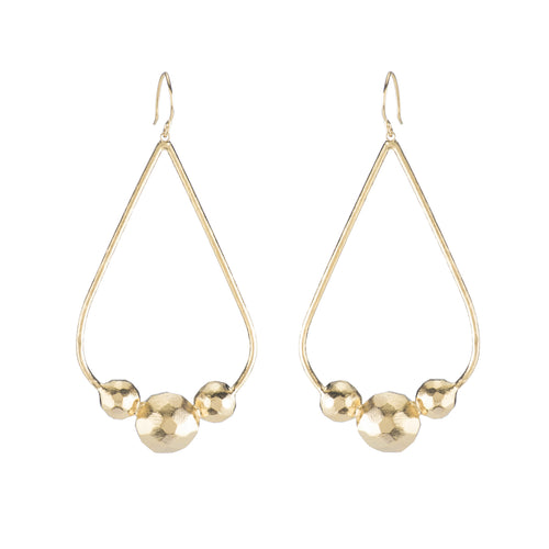 Larabee Open Drop Earrings