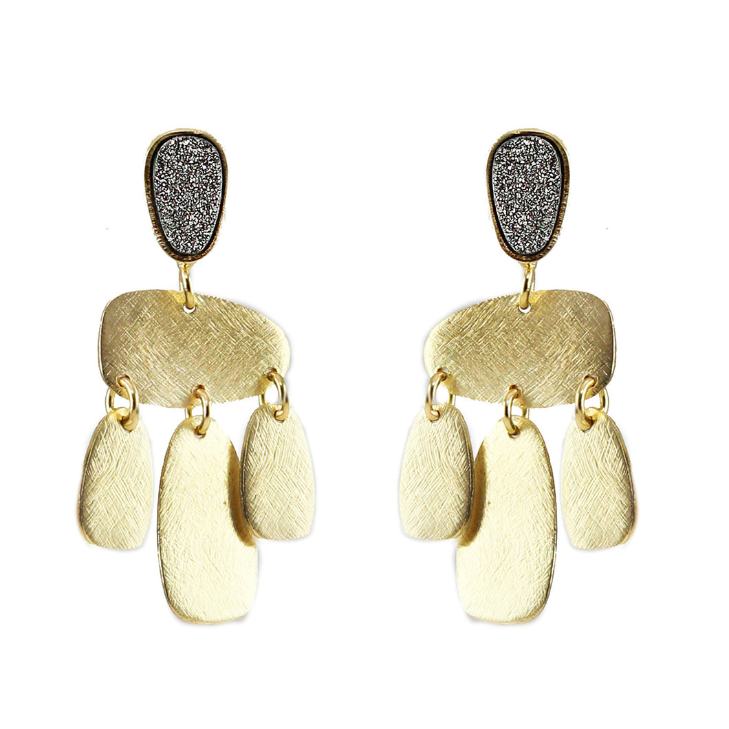 Idril Druzy Earrings