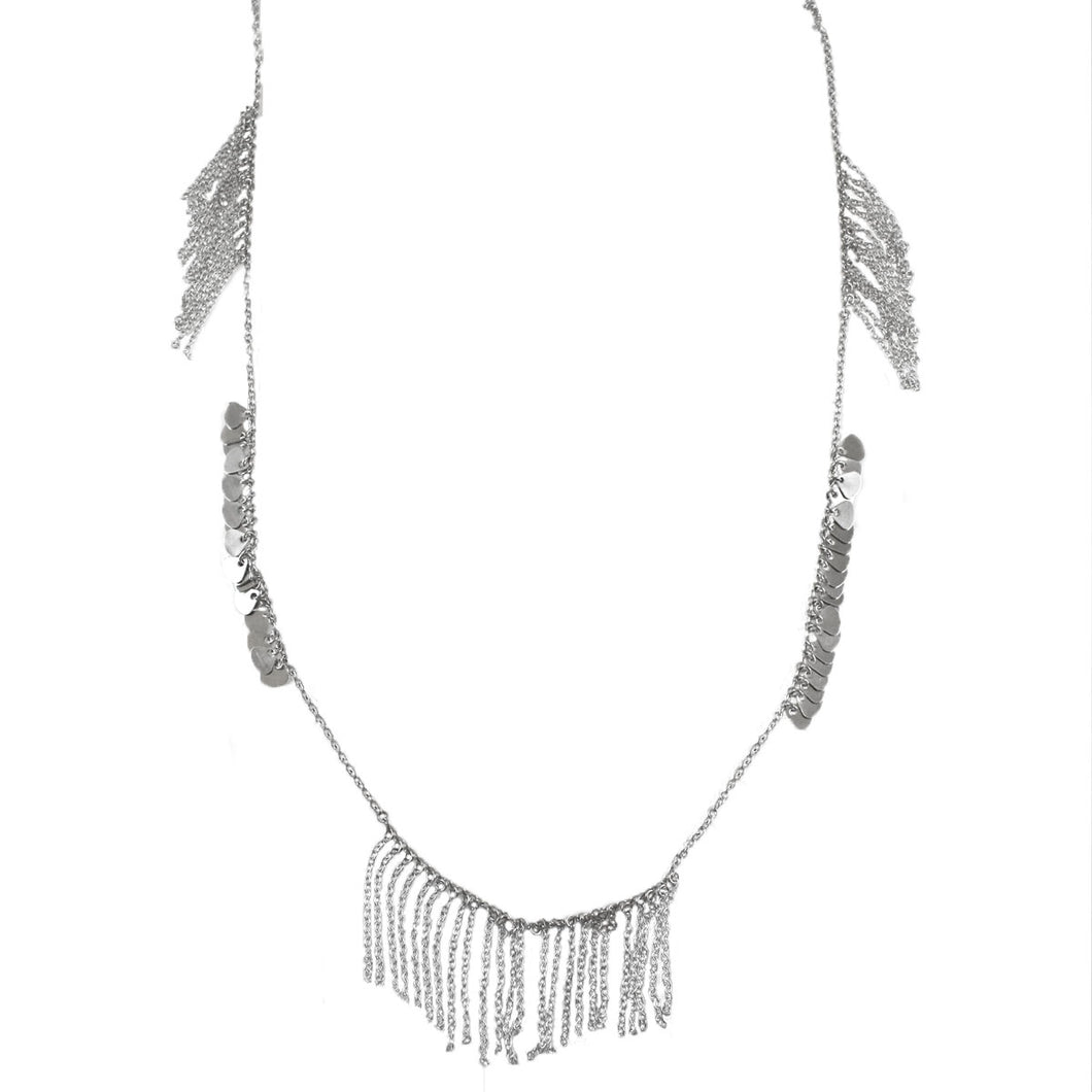 Fabio Fringe Necklace