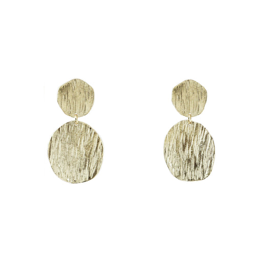 Morna Small Textured Earrings