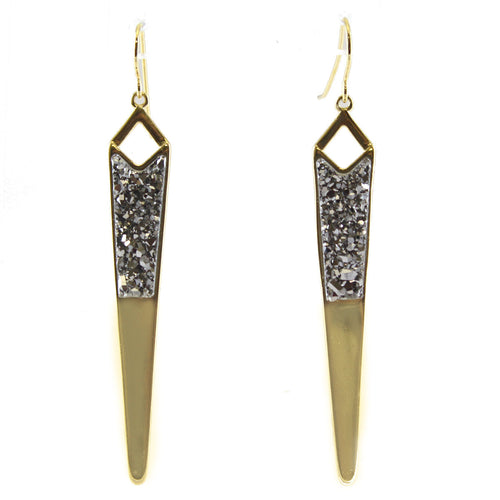 LORI BETH NARROW ARROWHEAD EARRINGS