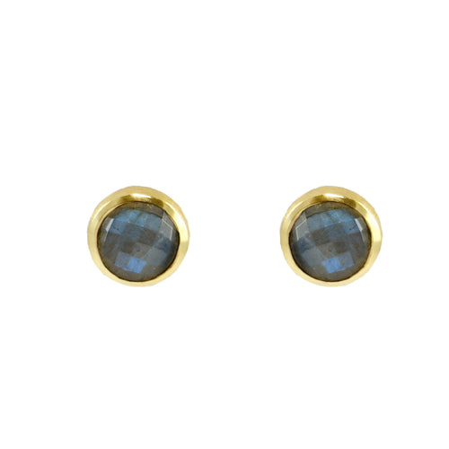 Milly Small Natural Stone Studs
