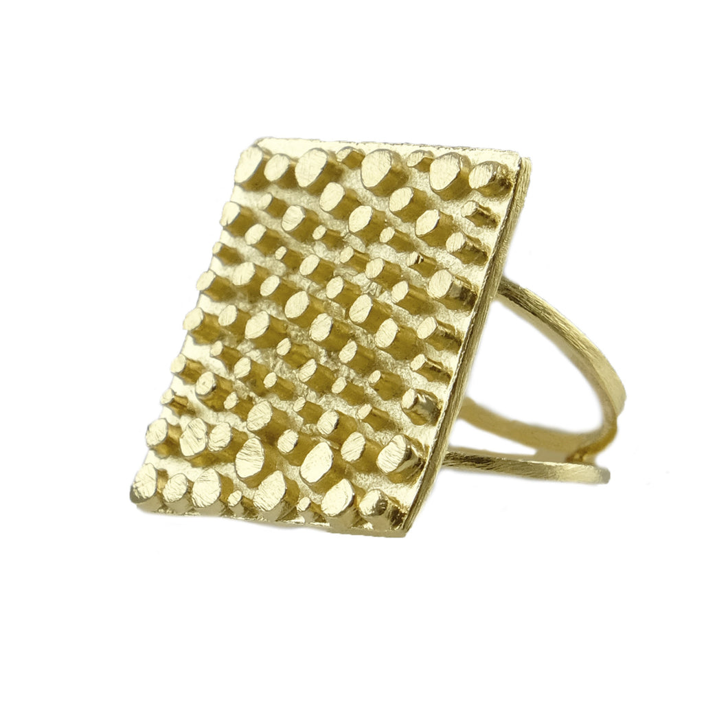 Gilberta Embossed Ring
