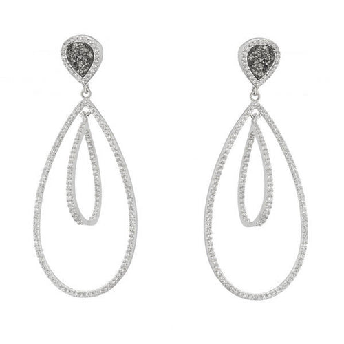 NADIA DOULE OPEN DROP EARRINGS