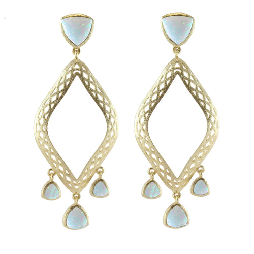 Bellina Marquise Drop Earrings