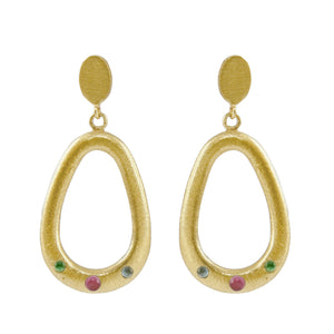 Nikolina Embellished Drop Earrings