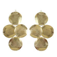 Alexia Statement Coin Earrings