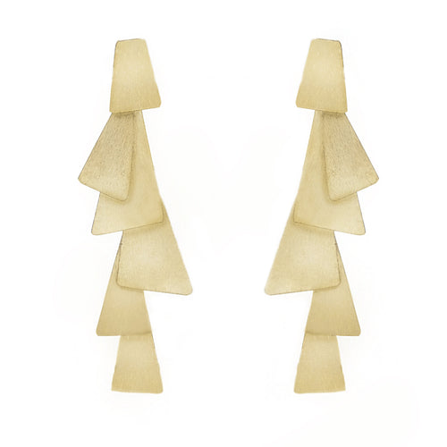 Wera Statement Geometric Earrings