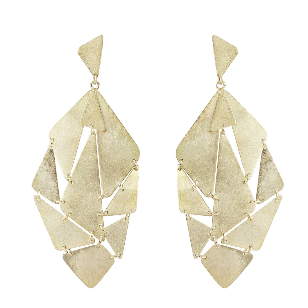 Dafina Geometric Statement Earrings