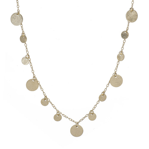 Sonny Multi Coin Long Necklace