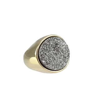 Anara Oval Cocktail Ring