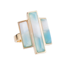 KERN STONE BAR TRIO RING