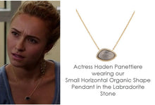 BB178p Marcia Moran Valencia Necklace in Labradorite as Seen on Hayden Panettierre