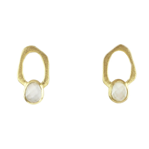 Dali Single Link Post Earrings