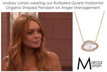 BB178p Marcia Moran Valencia Necklace in Rutilated Quartz as seen on Lindsay Lohan