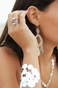 BALI EMBELLISED DROP STACKBLE RINGS