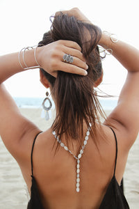 Bali Embellished Drop Stackable Rings