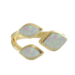 Mellie Three Marquise Stone Ring