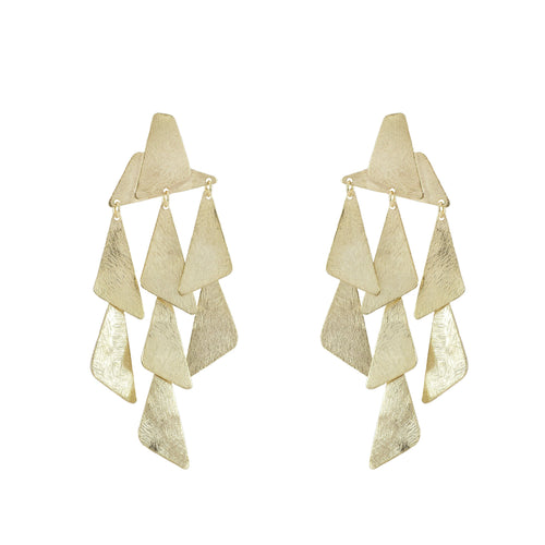 Annelie Geometric Statement Earrings