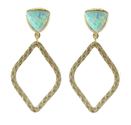 Allegro Filigree Drop Earrings