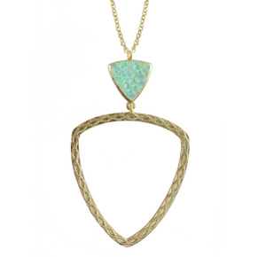 Carlotta Filigree Pendant Necklace