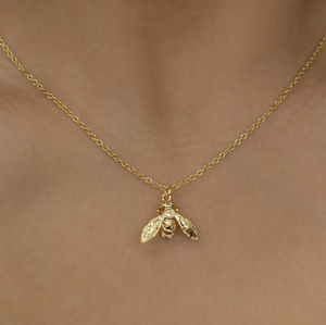 Bee Short Necklace