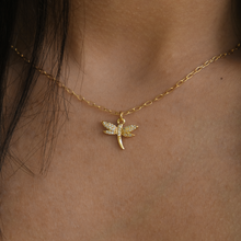 Lidia Dragonfly Charm Necklace