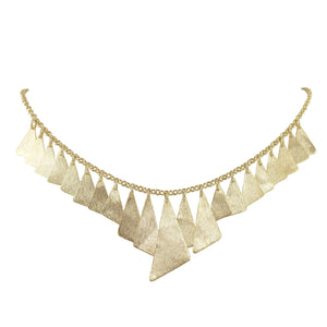 Cansu Dangle Geometric Necklace