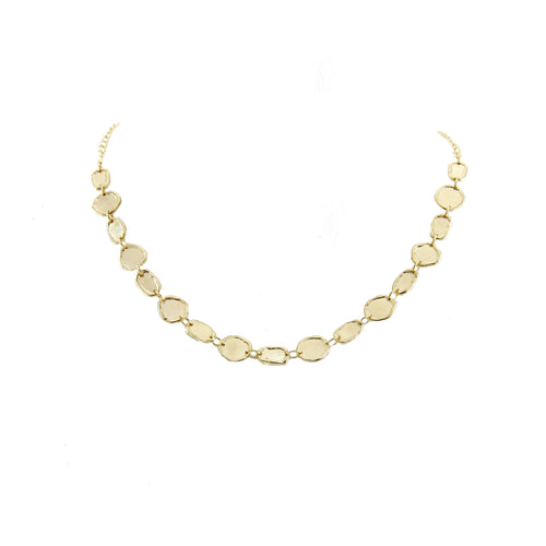 Ione Molten Motif Short Necklace