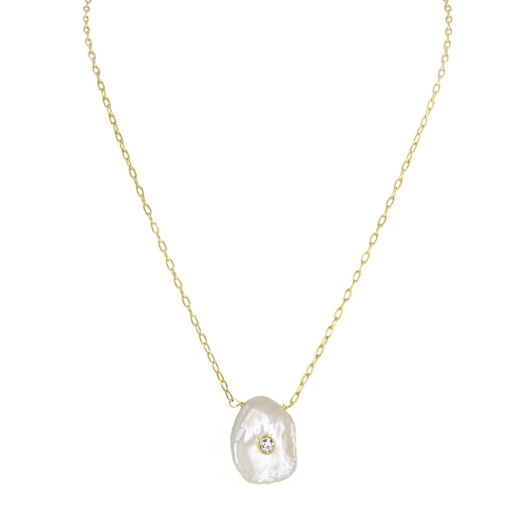 Estela Pearl Necklace