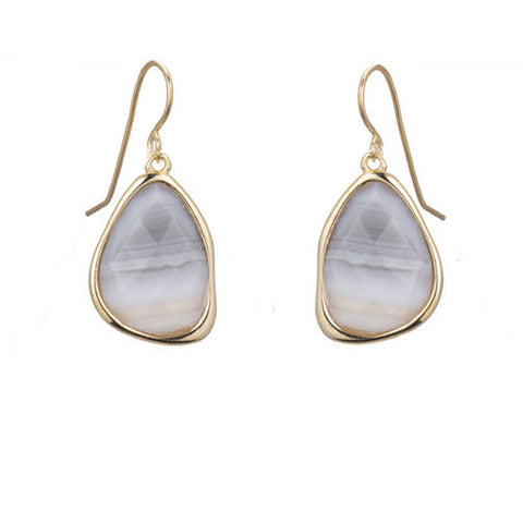 Etta Stone Drop Earring