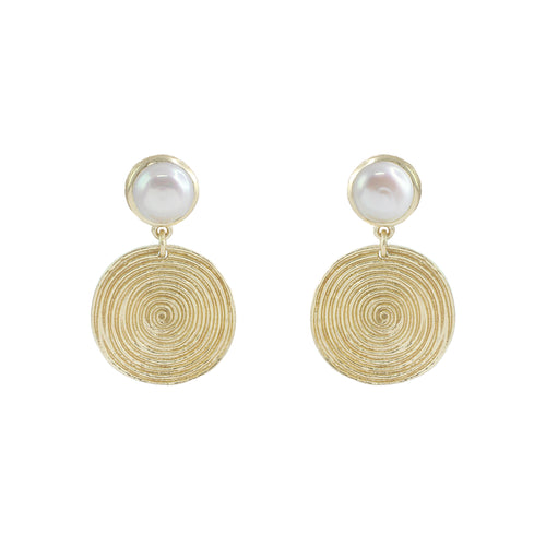 Lola Round Earrings