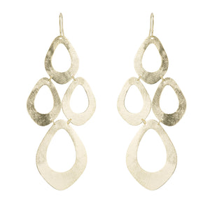 RASHI MULTI OPEN SHAPE CHANDELIER EARRINGS