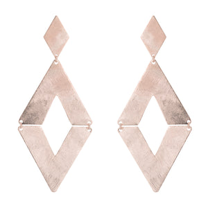 Rubin Diamond Shape Post Earrings