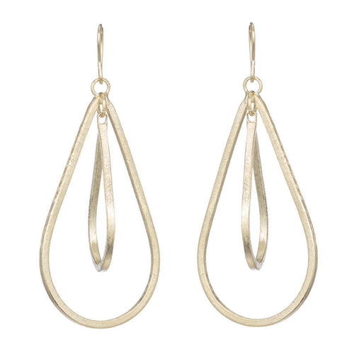 NIXON OPEN DROP EARRINGS