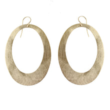 BIANCA RETRO OPEN DROP EARRINGS