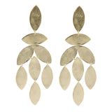 Magnolia Marquise Chandelier Earrings