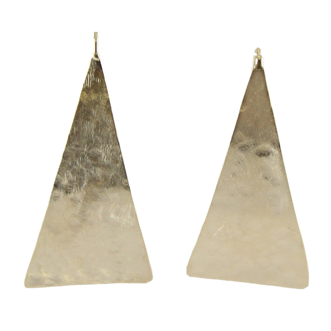Tre Triangular WIre Earrings
