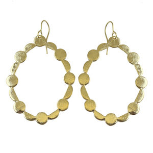 SUZIE OPEN OVAL EARRINGS