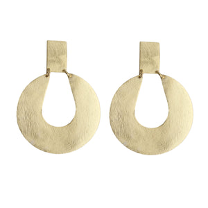 Pila  Open Arc Earrings