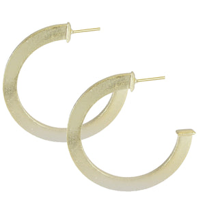 ARCA MEDIUM HOOP EARRINGS