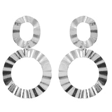 ALICE WAVY CIRCLE EARRINGS
