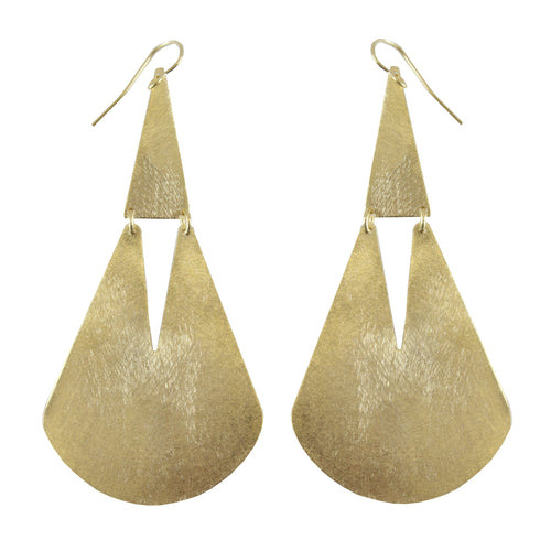 BRAE HINGED DROP EARRING