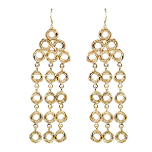 Angela Chandelier Swirl Earrings