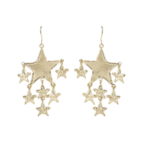 Philis Drop Star Earrings