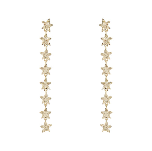 Thea Star Thread Earrings