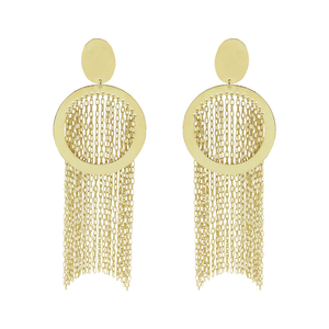 Lisette Statement Fringe Earrings