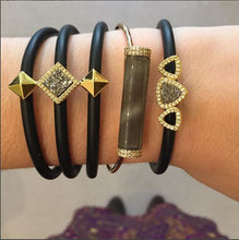 VICKY THREE TIER PYRAMID STUD BRACELET