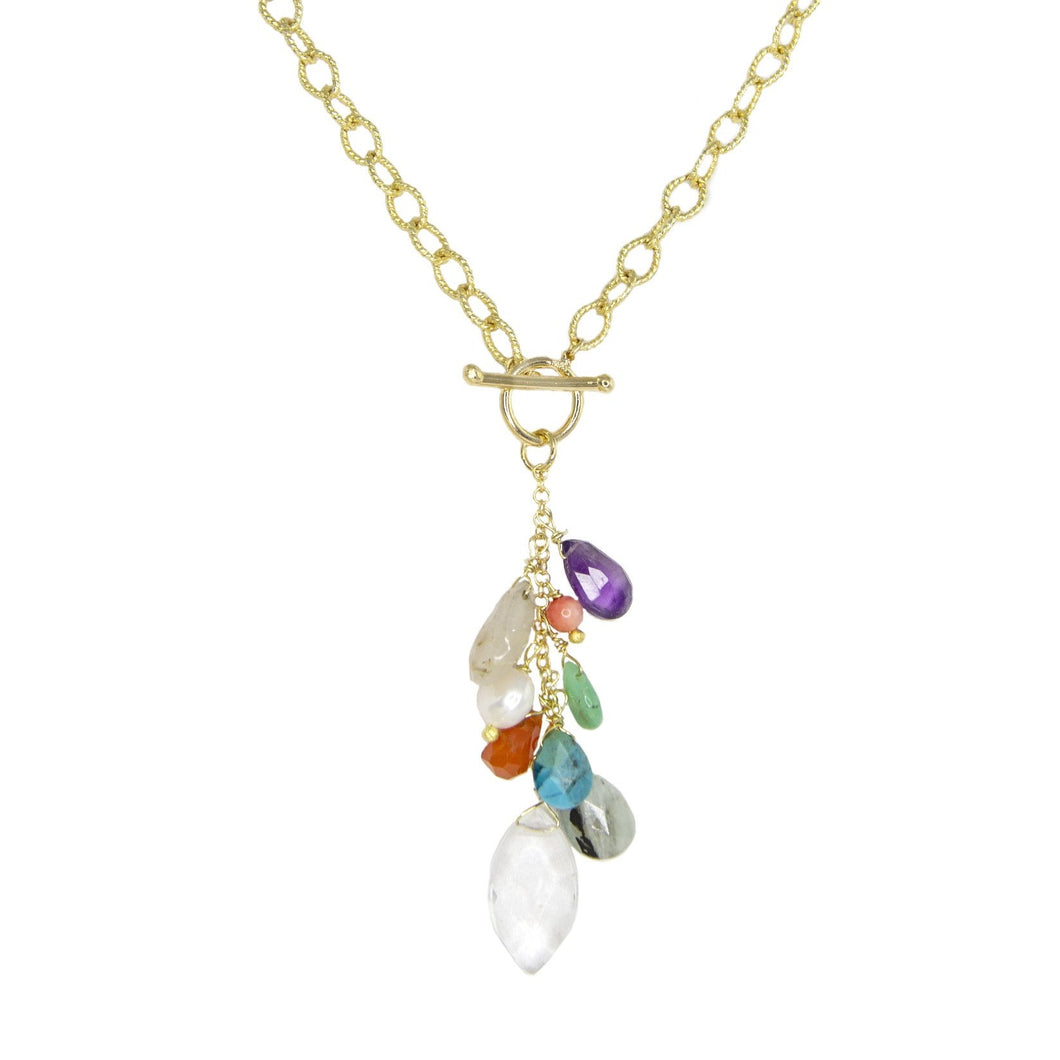 Alva Multi-Stone Necklace