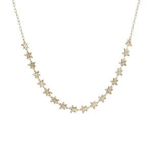 Trena Short Star Necklace